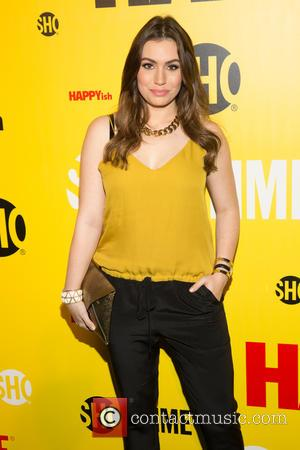 Sophie Simmons - Stars of the new comedy TV series 'Happyish' among a variety of other stars were photographed as...