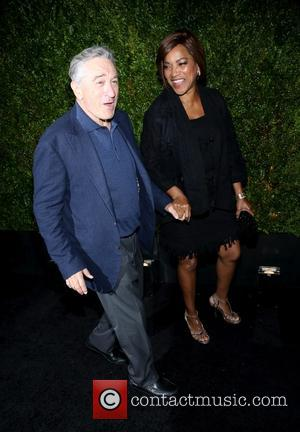 Robert De Niro and Grace Hightower - 2015 Tribeca Film Festival - CHANEL Artists Dinner - Arrivals at Tribeca Film...