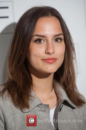 Lucy Watson - F&F salon show held at the Savoy - Arrivals. - London, United Kingdom - Tuesday 21st April...