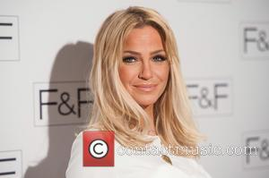Sarah Harding - F&F salon show held at the Savoy - Arrivals. - London, United Kingdom - Tuesday 21st April...