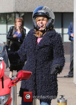 Kate Garraway - Kate Garraway outside ITV Studios - London, United Kingdom - Tuesday 21st April 2015