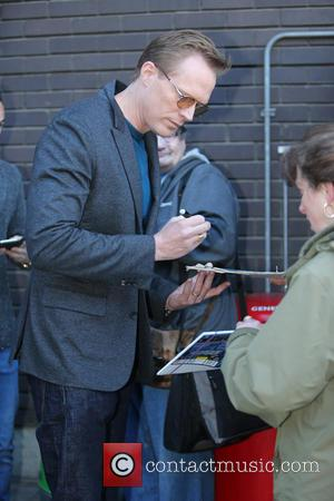Paul Bettany - Paul Bettany outside ITV Studios - London, United Kingdom - Tuesday 21st April 2015