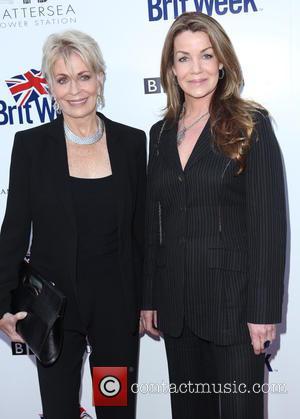 Claudia Christian and Joanna Cassidy