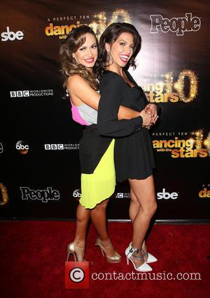 Karina Smirnoff and Melissa Rycroft