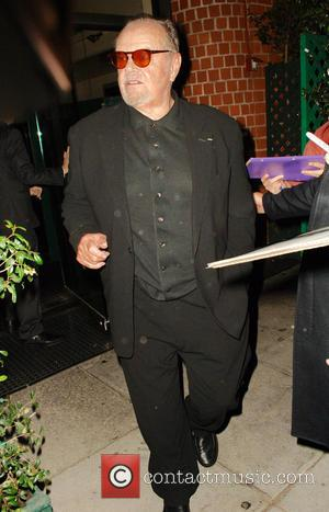 American Hollywood star Jack Nicholson was spotted out as he visited the Mr Chow restaurant for a birthday meal in...