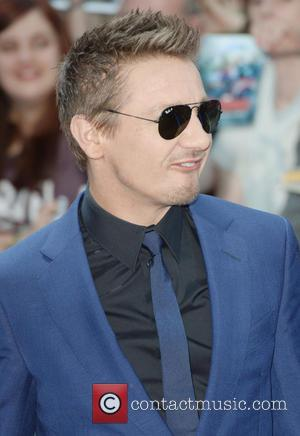 Jeremy Renner - Premiere of 'The Avengers: Age of Ultron' held at Westfield - Arrivals at Westfield - London, United...