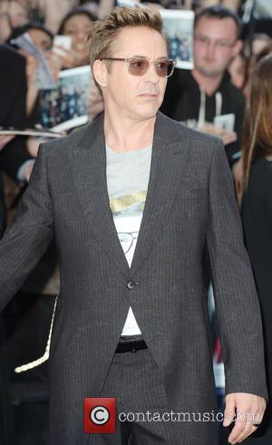 Robert Downey Jr - Premiere of 'The Avengers: Age of Ultron' held at Westfield - Arrivals at Westfield - London,...