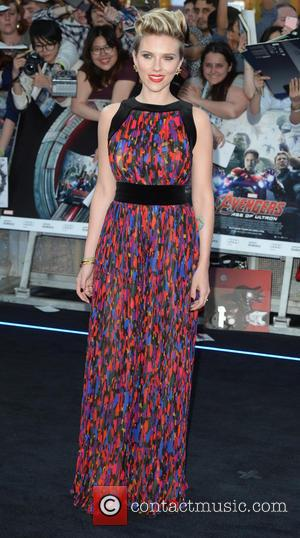 Scarlett Johansson - Premiere of 'The Avengers: Age of Ultron' held at Westfield - Arrivals at Westfield - London, United...