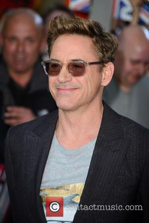 Robert Downey Jr - 'The Avengers: Age Of Ultron' UK premiere - Arrivals - London, United Kingdom - Tuesday 21st...