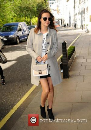 Lucy Watson - F AND F Fashion Show Arrivals at The Savoy Hotel - London, United Kingdom - Tuesday 21st...