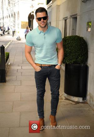 Mark Wright - F AND F Fashion Show Arrivals at The Savoy Hotel - London, United Kingdom - Tuesday 21st...
