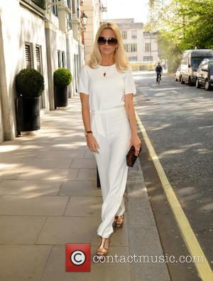 Sarah Harding - F AND F Fashion Show Arrivals at The Savoy Hotel - London, United Kingdom - Tuesday 21st...