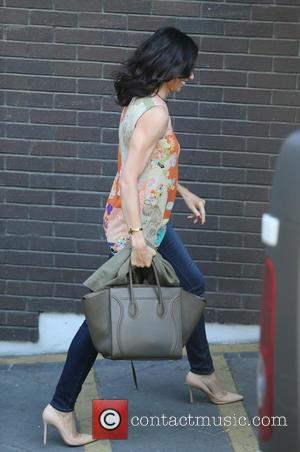 Christine Bleakley - Christine Blekley outside ITV Studios - London, United Kingdom - Tuesday 21st April 2015
