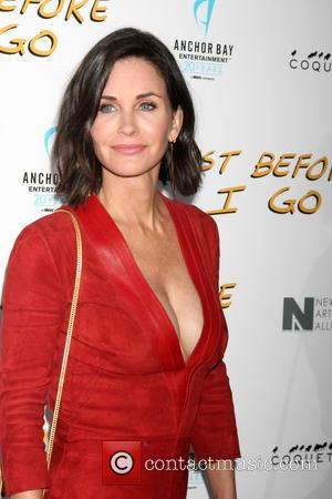 Courteney Cox - Screening of 'Just Before I Go' held at ArcLight Hollywood - Arrivals at ArcLight Theater Hollywood -...