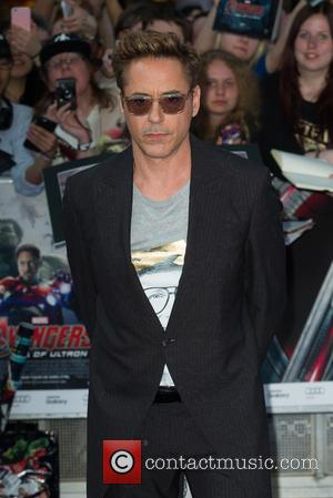 Robert Downey and Avengers
