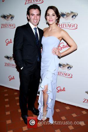 Jarrod Spector and Kelli Barrett