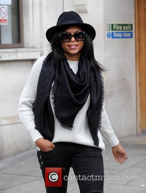 Ashanti - Ashanti sighting at The Kiss FM Studios - London, United Kingdom - Wednesday 22nd April 2015