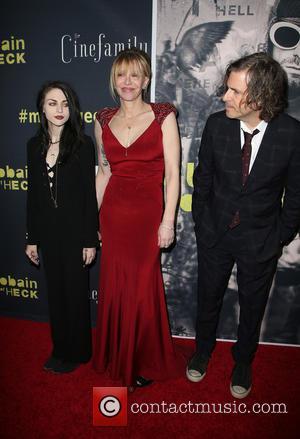 Frances Bean Cobain, Courtney Love and Brett Morgen