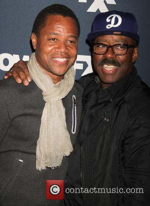 Cuba Gooding Jr. and Courtney B.Vance - A host of stars were photographed as they arrived for the 2015 FX...