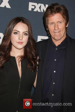 Denis Leary and Liz Gillies