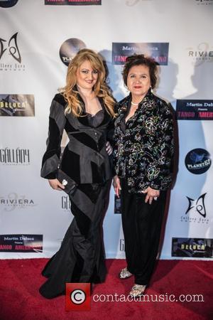 Vikki Lizzi and Shirley Sullivan - 'Tango Americano' at Riviera 31 Cocktail Lounge at the Sofitel Los Angeles at Beverly...