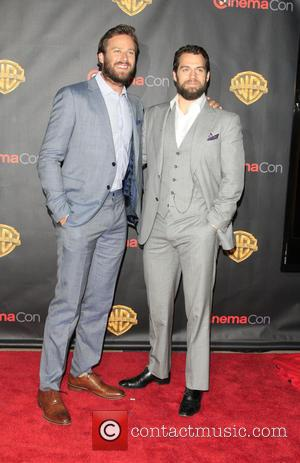Armie Hammer and Henry Cavill