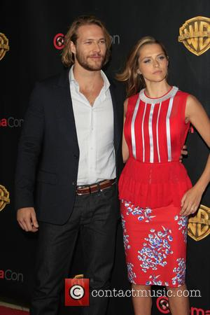 Luke Bracey and Teresa Palmer