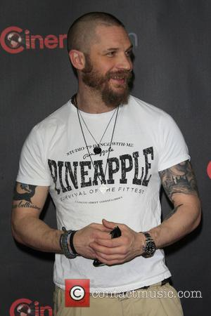 Tom Hardy - Shots of a host of stars as they arrived for the 2015 CinemaCon which was held at...