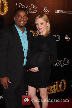 Alfonso Ribeiro and Angela Ribeiro - Dancing with the Stars 10 Year Anniversary Party at Greystone Manor - West Hollywood,...