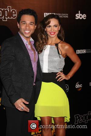 Corbin Bleu and Karina Smirnoff - Dancing with the Stars 10 Year Anniversary Party at Greystone Manor - West Hollywood,...