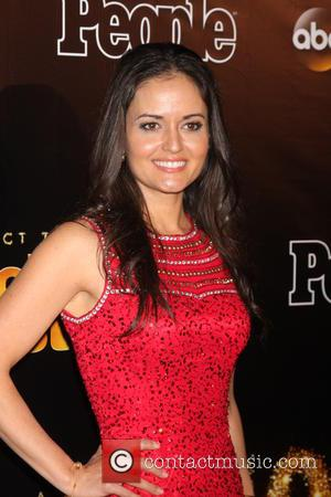 Danica McKellar - Dancing with the Stars 10 Year Anniversary Party at Greystone Manor - West Hollywood, California, United States...