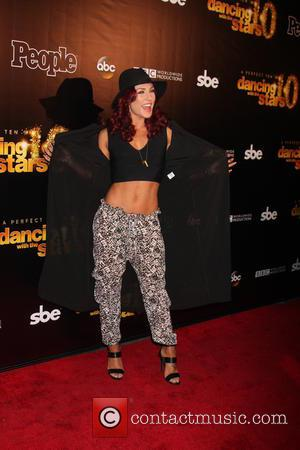Sharna Burgess - Dancing with the Stars 10 Year Anniversary Party at Greystone Manor - West Hollywood, California, United States...
