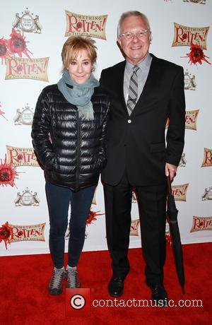 Zoe Wanamaker and Walter Bobbie - A variety of stars were snapped as they arrived for the opening night of...
