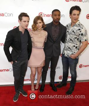 Jamie Bell, Kate Mara, Michael B Jordan and Miles Teller - A host of stars were photographed at the 20th...