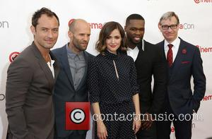 Jude Law, Jason Statham, Rose Byrne, Curtis 50 Cent Jackson and Paul Feig - A host of stars were photographed...
