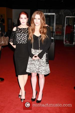 Priscilla Presley and Lisa Marie Presley - Ribbon-cutting ceremony for the grand opening of 'Graceland Presents ELVIS: The Exhibition -...