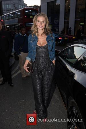Donna Air - Ferrari 488 GTB launch party held at the Old Sorting Office. - London, United Kingdom - Thursday...