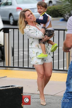 Melissa Joan Hart and Tucker Wilkerson