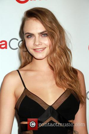 Cara Delevingne - CinemaCon 2015 Big Screen Achievement Awards Red Carpet at Caesars Palace - Arrivals at Caesars Palace -...