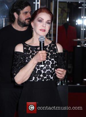 Priscilla Presley - Priscilla Presley and Lisa Marie Presley open the new 'Elvis: The Exhibition-The Show-The Experience' at Westgate Las...