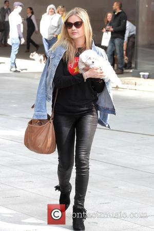 Laura Whitmore - Celebrities at BBC Radio 1 - London, United Kingdom - Thursday 23rd April 2015