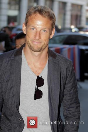 Jenson Button - Celebrities at the BBC Radio 1 studios - London, United Kingdom - Thursday 23rd April 2015