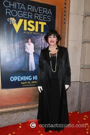 Chita Rivera - Opening night after party for Broadway musical The Visit at the Lyceum Theatre - Arrivals. at Lyceum...