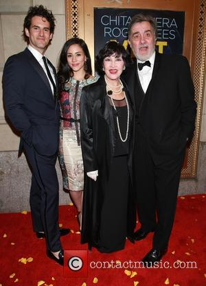 John Riddle, Michelle Veintimilla, Chita Rivera and Roger Rees