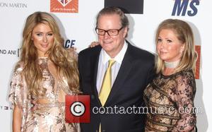 Paris Hilton, Rick Hilton and Kathy Hilton