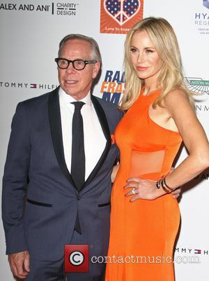 Tommy Hilfiger and Dee Ocleppo - 22nd annual Race To Erase MS at Hyatt Regency Century Plaza at the Hyatt...