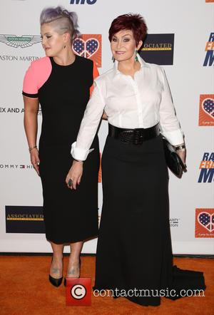 Kelly Osbourne and Sharon Osbourne - Celebrities attend 22nd annual Race To Erase MS at Hyatt Regency Century Plaza. at...