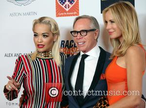 Rita Ora, Tommy Hilfiger and Dee Ocleppo