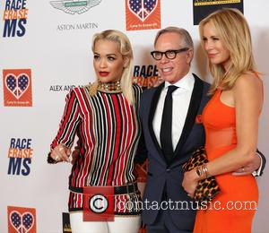 Rita Ora, Tommy Hilfiger and Dee Ocleppo - Celebrities attend 22nd annual Race To Erase MS at Hyatt Regency Century...