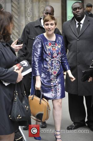 Lena Dunham - Variety's Power of Women: New York luncheon - Manhattan, New York, United States - Friday 24th April...